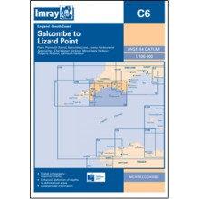CARTE IMRAY C6 ANGLETERRE: SALCOMBE TO LIZARD POINT