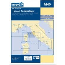 CARTE IMRAY M45 ITALIE: TUSCAN ARCHIPELAGO / ARCHIPEL TOSCAN