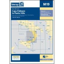CARTE IMRAY M19 ITALIE / SICILE: CAPO PALINURO TO PUNTA STILO