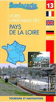 GUIDE FLUVIACARTE N° 13 PAYS DE LA LOIRE