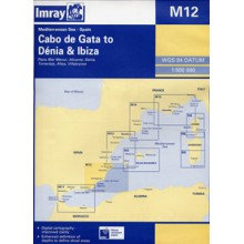 CARTE IMRAY M12 ESPAGNE SUD ET BALÉARES: CABO DE GATA TO DÉNIA AND IBIZA