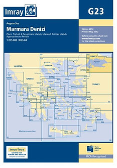 CARTE IMRAY G23 MARMARA DENIZI