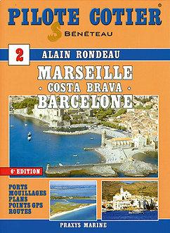 PILOTE CÔTIER N°2 - MARSEILLE - BARCELONE