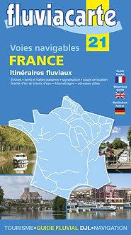 CARTE FLUVIACARTE N° 21 FRANCE