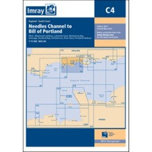 CARTE IMRAY C4 ANGLETERRE: NEEDLES CHANNEL TO BILL OF PORTLAND