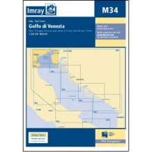 CARTE IMRAY M34 ITALIE ADRIATIQUE: GOLFO DI VENEZIA / GOLFE DE VENISE