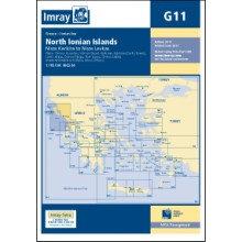 CARTE IMRAY G11 GRÈCE: NORTH IONIAN ISLANDS, NÍSOS KÉRKIRA TO NÍSOS LEVKAS