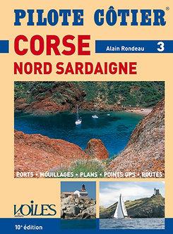 PILOTE COTIER N°3 - CORSE - NORD SARDAIGNE