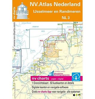 NV.ATLAS NL3 - IJSSELMEER EN RANDMEEREN