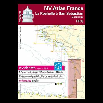 NV ATLAS FR 8 - LA ROCHELLE À SAN SEBASTIAN - BORDEAUX
