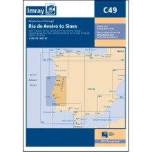 CARTE IMRAY C49 PORTUGAL: RIA DE AVEIRO TO SINES