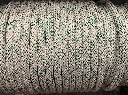 blanc et vert chiné 10mm