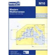 CARTE IMRAY M10 WESTERN MEDITERRANEAN / MÉDITERRANÉE PARTIE OUEST