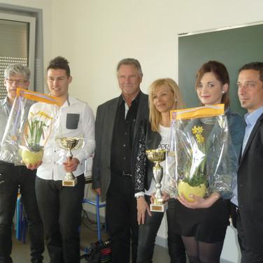 deuxième prix : Elisa Lenot du salon METAMORPHOSE organisée par Doriane Boetsch et Sylvain Cointot. En partenariat avec le CFA (centre de formation d'apprentis).