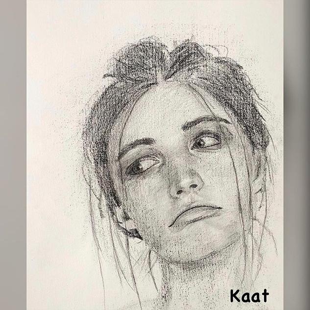 Portret • Portrait Op de kunstacademie f