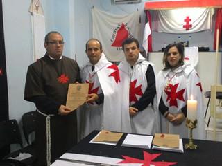 Ordem do Templo realiza iniciações de Noviços no ano de 2017
