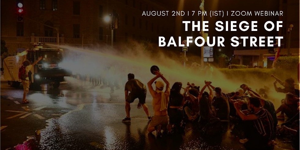 The Siege of Balfour Street