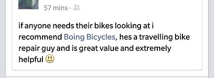 Mobile Bicycle Repair Bristol