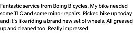 Cycle Servicing Bristol