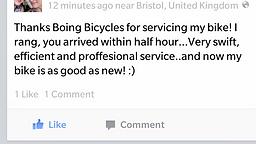 Mobile Bicycle Repairman Bristol