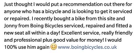 Mobile Bicycle Repair London