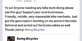 Bicycle Repairs Bristol