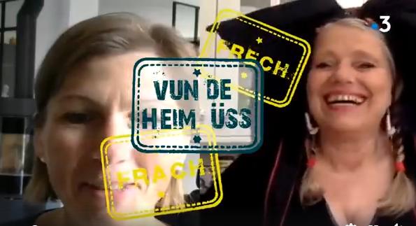 """Frach oder Frech"" sur France 3 Alsace"