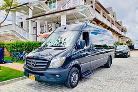 Image of Sprinter Van for Special Events, weddings, corporate entertainment services