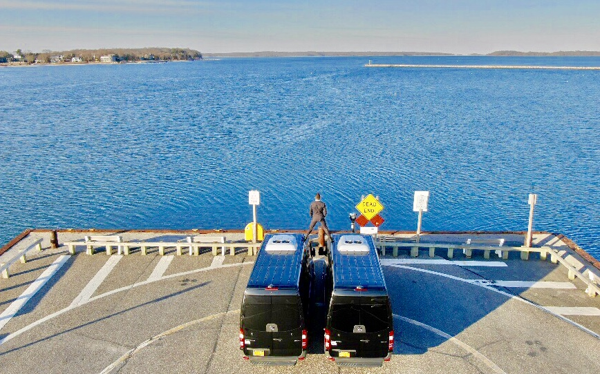 Bluebird Limo on a ferry image
