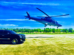 hamptons private helicopter & limo