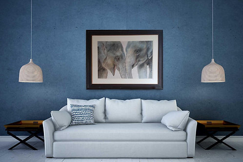 Best Friends - Signed Limited Edition Print