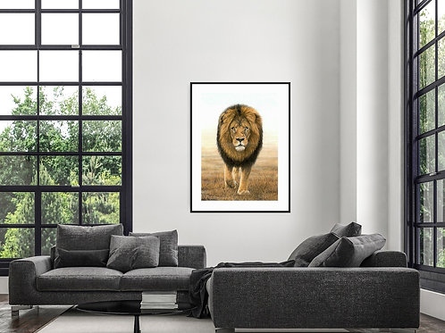Mufasa 59 x 84cm - other sizes available