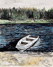 Monica List-Boat on Mammoth