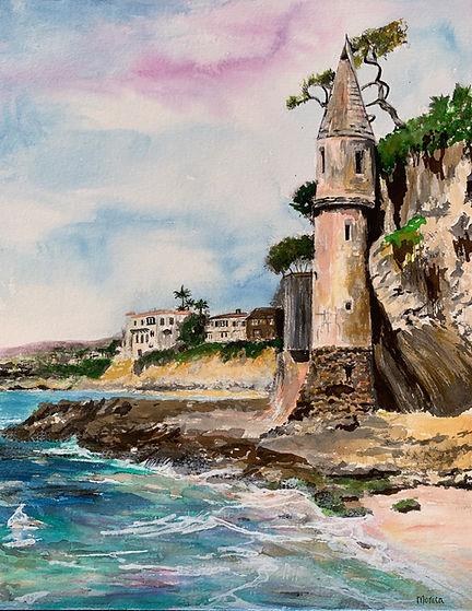 Monica List Painting of Victoria Beach