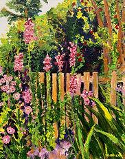 Monica List-Sunny Garden