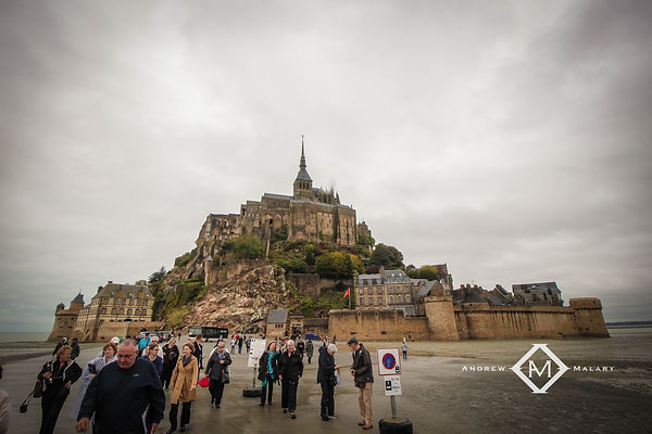 Mount. St. Michel, France