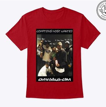 CMW Gang Short Sleeve Tshirt Red.JPG