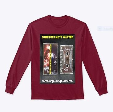 CMW Cassette Long Sleeves Burgundy.JPG