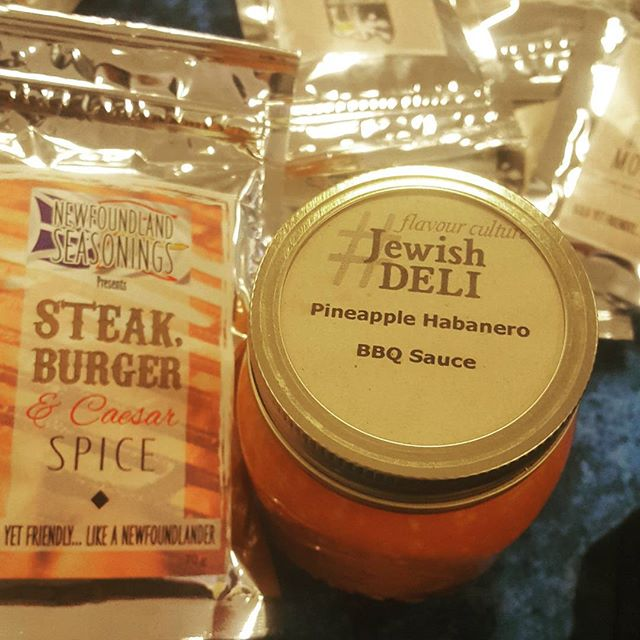 _sjfmnl  _jonathanrichler the perfect BBQ combo_ Newfoundland Seasonings and The Jewish Deli _#boldy