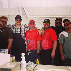 On the grounds _mccrowe8 _chefrogo _shussey1 _chinchedbistro #firefoodmusic #localfood #foodie #food