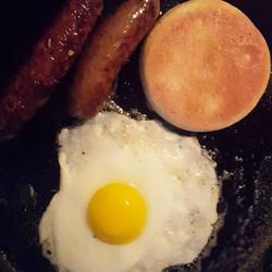 #moosesausage for #breakfast