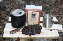 moose steak camping