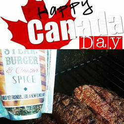 Fire up the grill #canadaday #bbq #grill #iamcanadian #boldyetfriendly