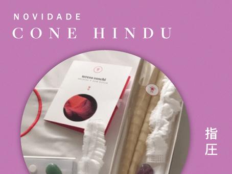 Cone Hindu - Novidade Tereza Zanchi
