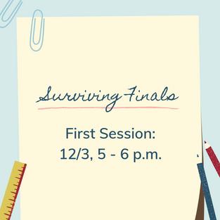 Surviving Finals Session