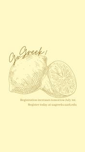 Lemons Go Greek