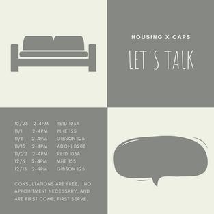 Housing x Let's Talk Times