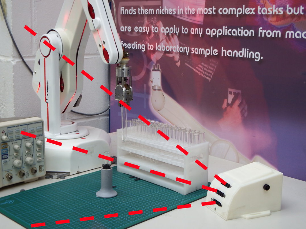 Sensores robot