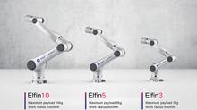 La familia de robots colaborativos Elfin