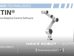 La tecnología en forma de robot colaborativo